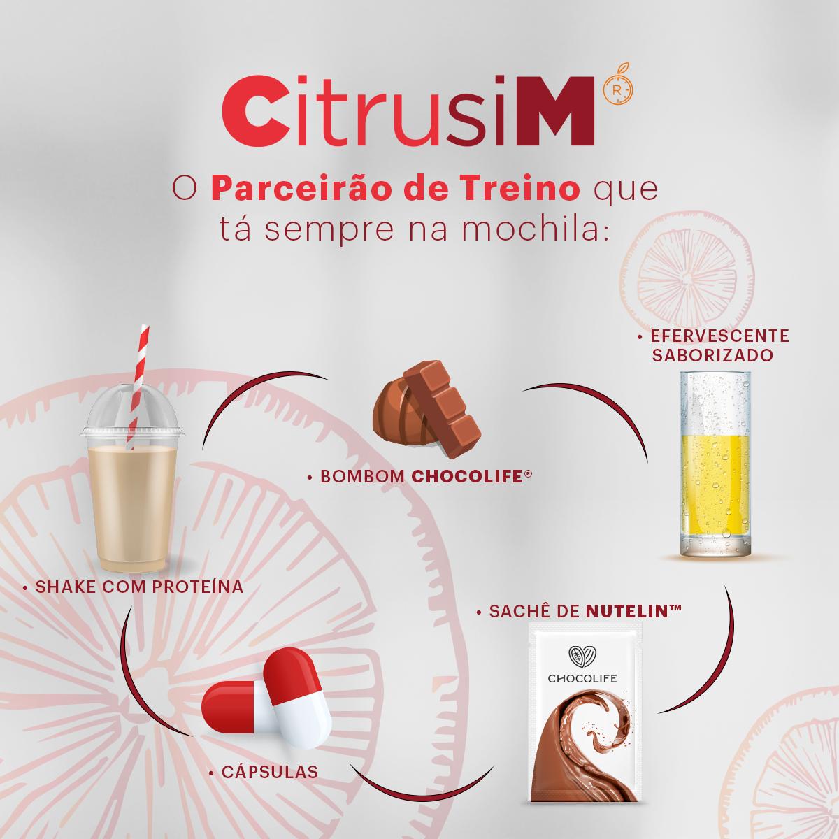 CitrusiM é o parceirão de treino que ta sempre na mochila